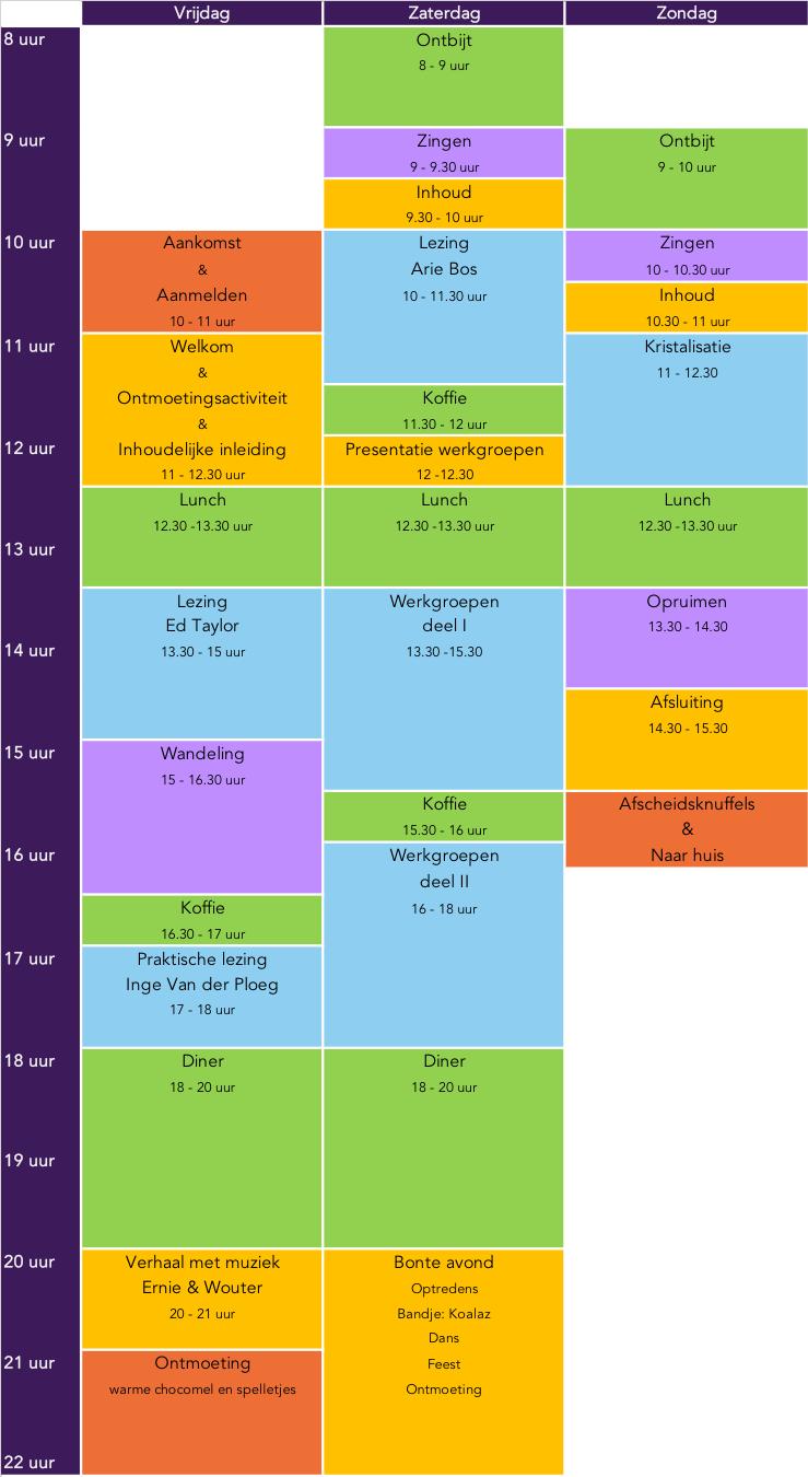 Programma MWV18